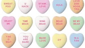 sweetheart candy sayings stank wig and other sayings from ai generated candy