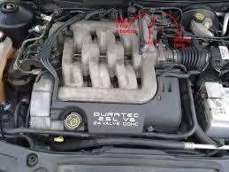 iacv location moosing idle problems v6 petrol engines mk1