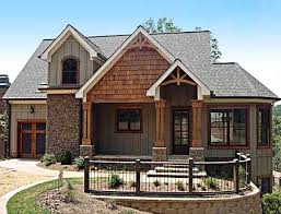 lake home plans narrow lot plan 92305mx mountain home with vaulted ceilings craftsman