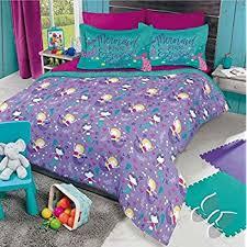 Little Mermaid Comforter Amazon Com Mermaid Girls Bedding Twin 3 Piece Comforter Bed Set
