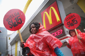 mcdonald u0027s charged with abusing workers over wage protests pbs