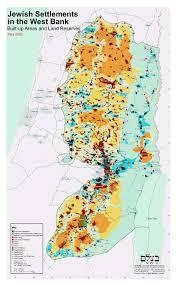Up Map Jewish Settlements In West Bank Map Weltatlas