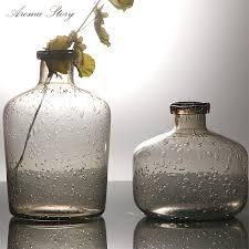 vasi decorativi europeo moderno handmade vaso di fiore di vetro vasi decorativi