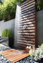 outdoor bathroom ideas bathroom 2017 enjoyable outdoor bathroom decor with brown wood