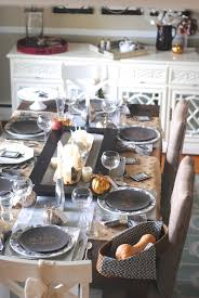 thanksgiving table decorations modern modern mixed metallic thanksgiving tablescape making lemonade