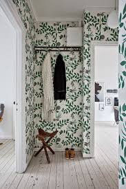 Tapisserie Wc Toilettes by Urban Jungle Gang Met Botanics Behang Via Planete Deco
