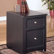 busy home office with modern vintage metal small nine drawer file