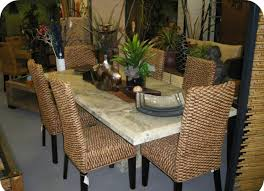 decorating tan seagrass dining chairs with black legs plus