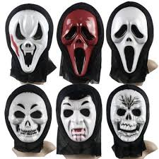 scream halloween costumes kids scary ghost mask scream halloween grimace mask fancy party props