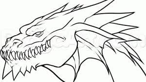 tag cool easy dragon drawings drawing pencil