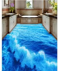 3d bathroom flooring 3d bathroom floor in consort with small home idea pwti org