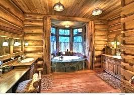 log cabin bathroom ideas cabin bathrooms howt