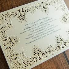 laser cut invitations simply radiant laser cut invitation invitations by