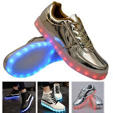 gold light up sneakers led light up sneakers shoes for sale in jamaica jadeals com