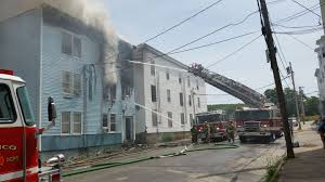 Three Story Building 22 Displaced By Rumford Apartment Fire Wpfo