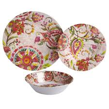 thanksgiving melamine plates global floral medallion melamine dinnerware collection christmas
