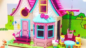 Cute House by Hello Kitty Doll House Cute House Youtube
