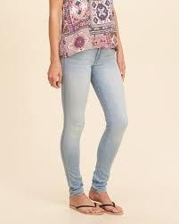 hollister light wash jeans hollister low rise super skinny jeans light wash girls clothing
