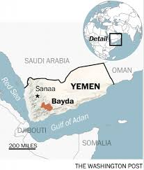 Where Is Yemen On The Map In Deadly Yemen Raid A Lesson For Trump U0027s National Security Team