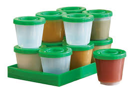 amazon com fresh n freeze 2 ounce reusable baby food containers