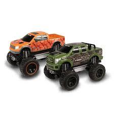 1 24 scale monster jam trucks nkok realtree 1 24 scale push u0027n go trucks ford f 150 svt raptor