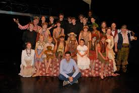 playwright doug rand attends peter pan wendy stage voices