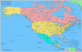 america map in radio prefix map of america