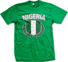 Nigerian Flag Nigeria Flag Men U0027s T Shirt Nigerian Flag With Olive