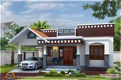 Kerala Home Design Floor Plan Indian 1874 Sqft Modern Contemporary 4 Bhk Villa Home Architecture