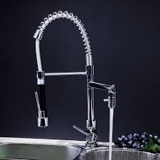 Kitchen Faucet Brushed Nickel Industrial Kitchen Faucet Brushed Nickel Commercial Style