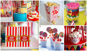 adorable circus themed first birthday party savvy sassy moms