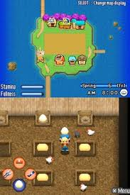 desmume apk harvest moon ds islands us oneup rom nds roms