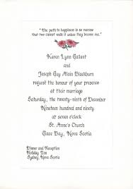 wedding invitations letter personal wedding invitation wording personal invitation for