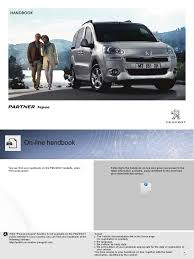 peugeot partner tepee 2014 owners manual manual transmission