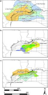 Gulf Of Mexico Depth Map by Upper Jurassic Tithonian Centered Source Mapping In The Deepwater