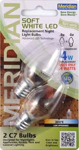 13141 led c7 replacement bulbs clear 2 pack