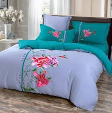 new fashion boho bed sheets cotton embroidery suite bed sheets  with new fashion boho bed sheets cotton embroidery suite bed sheets quilt sets  soft bedclothes bedding clothes duvets covers cotton bedding from  orangeweek  from dhgatecom