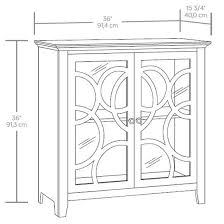 Sauder Shoal Creek Armoire Sauder Shoal Creek Elise Display Cabinet 420272 U2013 Sauder The