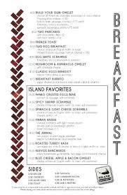 island kitchen nantucket breakfast menu picture of island kitchen nantucket tripadvisor