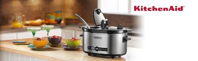 kitchen aid amazon black friday amazon com kitchenaid ksc6223ss 6 qt slow cooker with standard