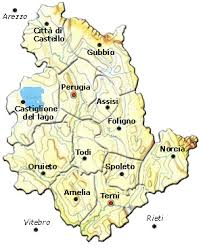 map of perugia commerce industry of umbria commerce industry in each region