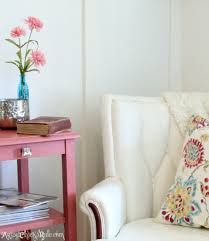 Reading Nook Chair by Thrifty French Chair Makeover Annie Sloan Chalk Paint Artsy