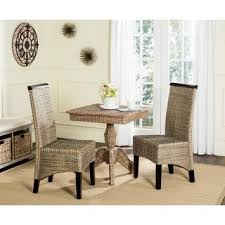 Safavieh Dining Room Chairs by Safavieh Rural Woven Dining Wheatley Grey Washed Wicker Dining