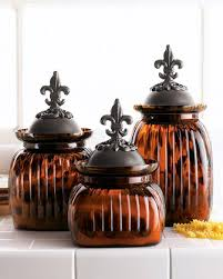 fleur de lis canisters for the kitchen found some similar to these at ross for way less than what i was