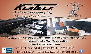 Auto Upholstery Utah Kenteck Custom Upholstery Inc In West Jordan Ut Yellowbot