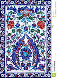 Tile Decoration Mosaic Tile Decoration Turkish Oriental Pattern Stock Photo