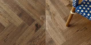 Laminate Flooring Warehouse Husk Herringbone Brown 3 Layer 15mm Engineered Wood Flooring