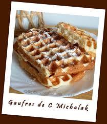 recette de cuisine de christophe michalak gaufres de christophe michalak pause gourmandises