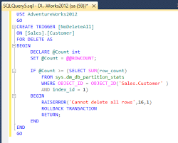 Delete All Rows From Table Prevent Accidental Table Data Deletion In Sql Server Management Studio