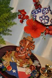 Decoration Themes For Ganesh Festival At Home by Aalayam Colors Cuisines And Cultures Inspired Celebrate